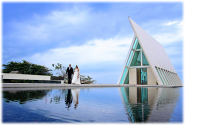 Overseas Bali Wedding Infinity Chapel
