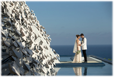 Bali Dove Chapel Wedding